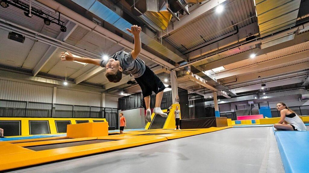 Runway Colchoneta-trampolín de acrobacias