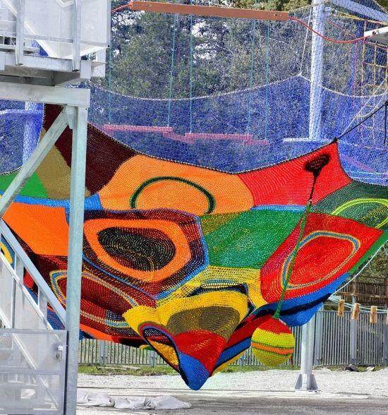 Parques de redes colgantes RopeLand